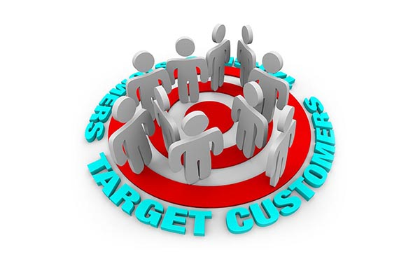 Target your website customers
