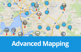 Advanced Mapping - Easy Property Listings WordPress Plugin